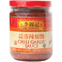 20060 LKK CHILI GARLIC SAUCE (S) 12X8OZ