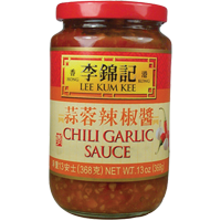 20061 LKK CHILI GARLIC SAUCE (L) 12X13OZ