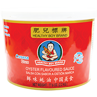 20738 HEALTHY BOY OYSTER SAUCE 6X77.6OZ