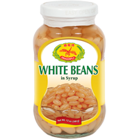 32130 DRAGONFLY WHITE BEANS (S) 24X12OZ