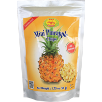 37281 D DRAGONFLY PINEAPPLE CHIPS 24X1.76OZ