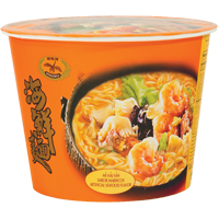 45083 DRAGONFLY INSTANT NOODLE (SEAFOOD) 12X4.23OZ