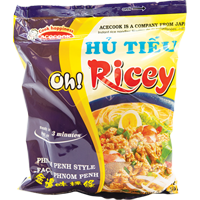 45303 OH RICEY PHNOMPENH RICE NOODLE 3 X (24X2.46OZ)