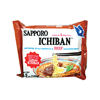 45430 SAPPORO NOODLE (BEEF) 24X3.5OZ