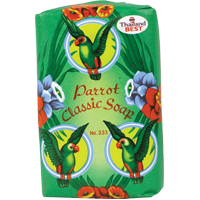 81055 PARROT SOAP (GREEN) 144X60GM