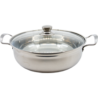 87725 SOUP POT WITH GLASS COVER 30CM