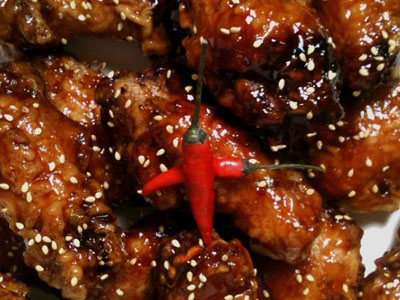 Korean Sweet Spicy Glaze Chicken