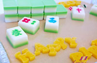 mahjong agar agar cake, anyone game?