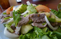 easy thai beef salad